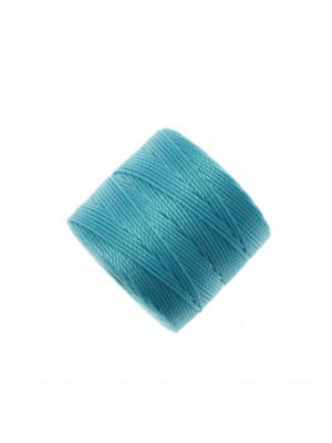 Super-Lon Bead Cord, spessore 0,6 mm., colore ACQUA