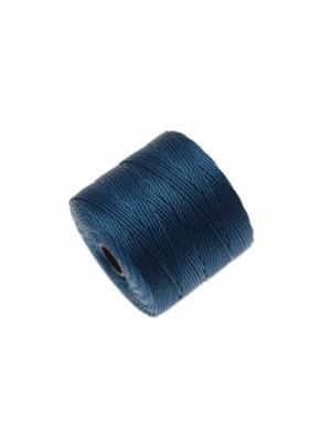 Super-Lon Bead Cord, spessore 0,6 mm., colore ZAFFIRO