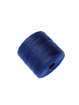 Super-Lon Bead Cord, spessore 0,6 mm., colore BLU