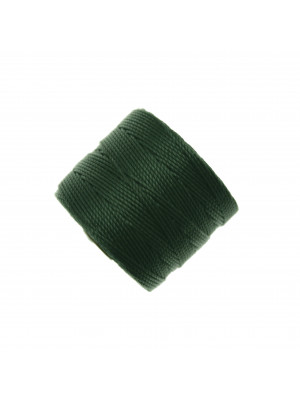 Super-Lon Bead Cord, spessore 0,6 mm., colore VERDE SMERALDO SCURO
