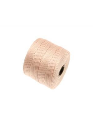 Super-Lon Bead Cord, spessore 0,6 mm., colore BEIGE ROSATO
