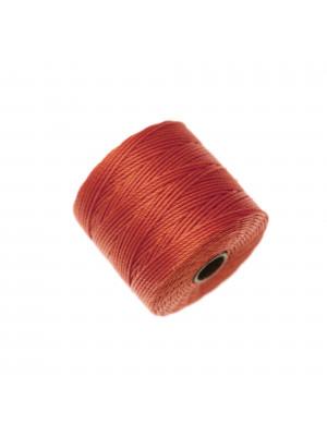 Super-Lon Bead Cord, spessore 0,6 mm., colore ARANCIONE SCURO