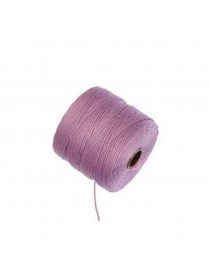 Super-Lon Bead Cord, spessore 0,6 mm., colore GLICINE SCURO