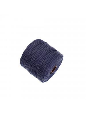 Super-Lon Bead Cord TEX400, spessore 0,9 mm., colore BLU SCURO