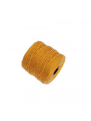 Super-Lon Bead Cord TEX400, spessore 0,9 mm., colore OCRA