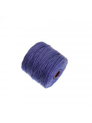 Super-Lon Bead Cord TEX400, spessore 0,9 mm., colore PERVINCA