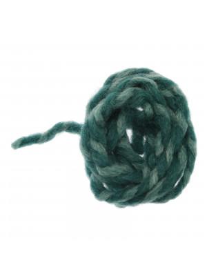Filo di lana grosso colore VERDE SMERALDO