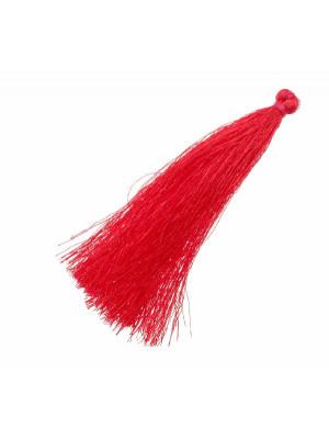 Nappina in poliestere, lunga circa 9,5 cm., colore FUCSIA