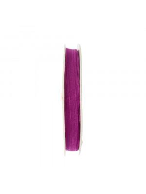 Organza, alta 6 mm., colore Glicine