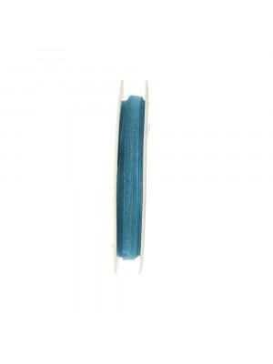 Organza, alta 6 mm., colore Indicolite