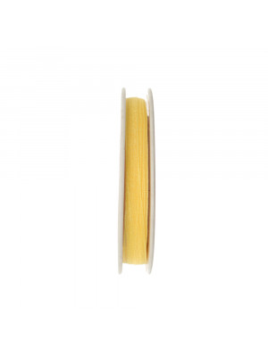 Organza, alta 6 mm., colore Giallo