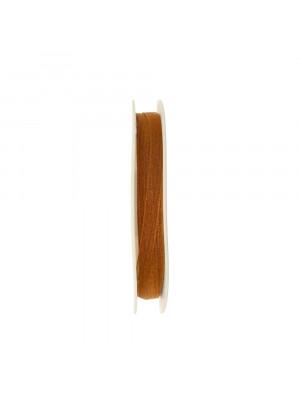 Organza, alta 6 mm., colore Marrone chiaro