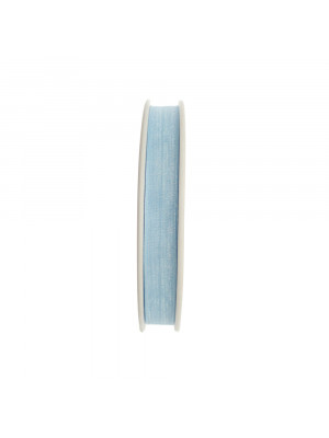 Organza, alta 10 mm., colore Azzurro Chiaro