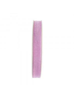Organza, alta 10 mm., colore Lilla Chiaro