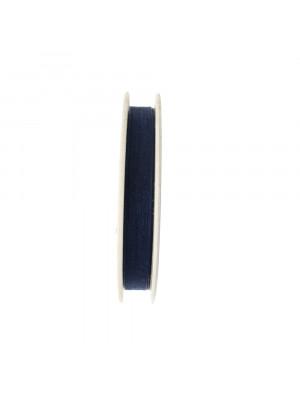 Organza, alta 10 mm., colore Blu