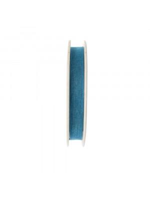 Organza, alta 10 mm., colore Indicolite