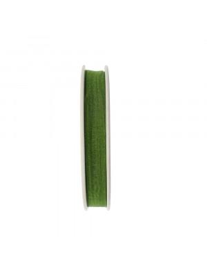Organza, alta 10 mm., colore Verde Oliva