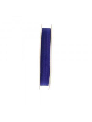 Organza, alta 10 mm., colore Zaffiro Scuro