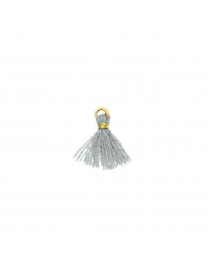 Nappina in Cotone, lunga 13 mm. circa, colore GRIGIO CHIARO