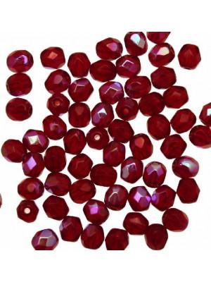 Mezzi cristalli da 4 mm. color Siam AB