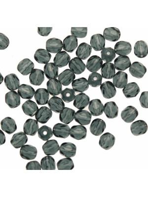 Mezzi cristalli da 4 mm. color Blu montana scuro