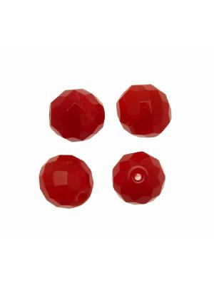 Mezzo cristallo colore Rosso sfumato opaco