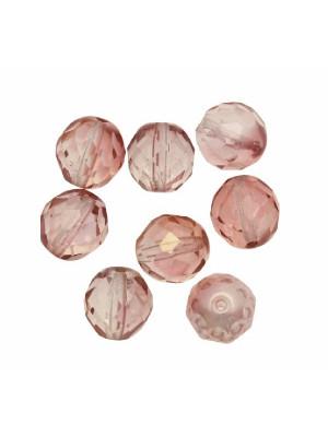 Mezzo cristallo colore Rosa antico sfumato trasparente