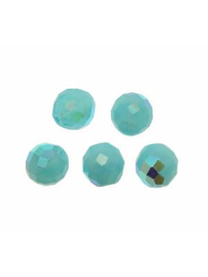 Mezzo cristallo colore Turchese chiaro AB