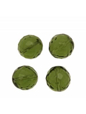 Mezzo cristallo colore Verde oliva
