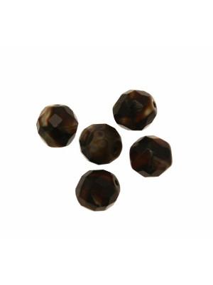 Mezzo cristallo colore Marrone scuro opaco sfumato
