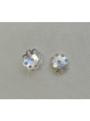 Coppetta filigranata 6 mm. in Argento 925