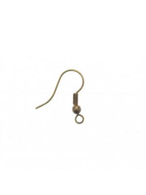 Monachella semplice, lunga 20 mm., colore Ottone