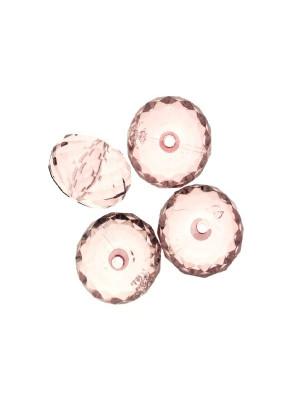 Cipolla multisfaccettata in resina color Light Ametista trasparente