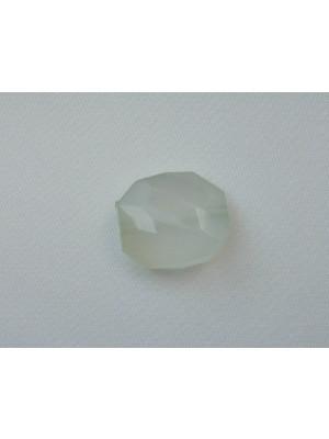 Elica multisfaccettata in resina color Verde chiarissimo opale