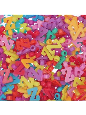 """Ciondolo in Plastica Lettera """"Z"""" 18x9mm."""