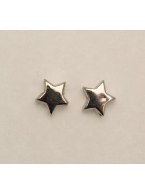 Distanziatore piatto a stella liscia 10 mm. in resina