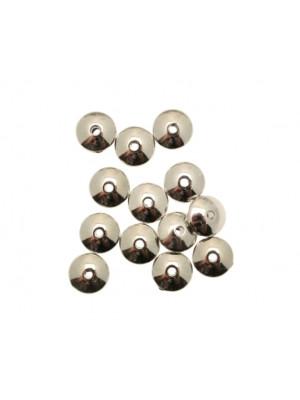 Distanziatore a forma di rondella piatta liscia 9 mm. in resina