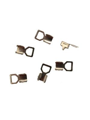 Finalino per catena strass, misura PP32 (4.00-4.10), con anellino chiuso grande finale